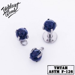 Накрутка space ball Implant Grade Титан